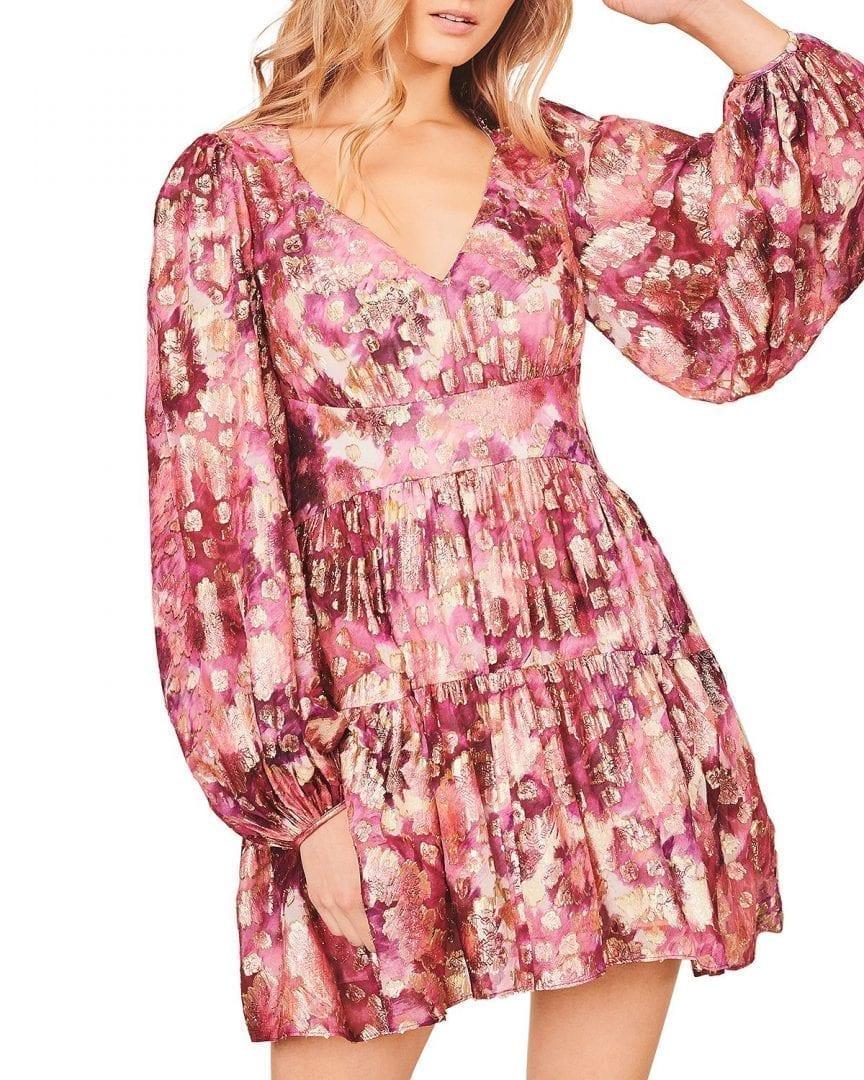 LOVESHACKFANCY Willis Printed Dress