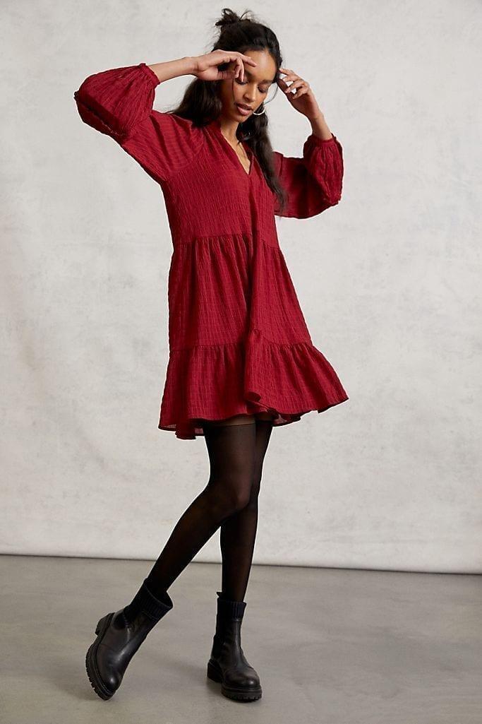 MARE MARE Anne Tiered Tunic Dress