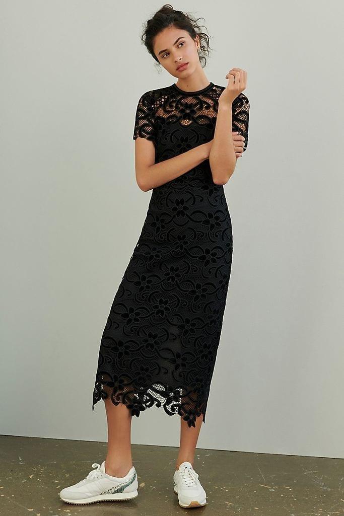SHOSHANNA Grazianne Lace Maxi Dress