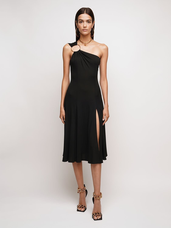 VERSACE Viscose Jersey Dress