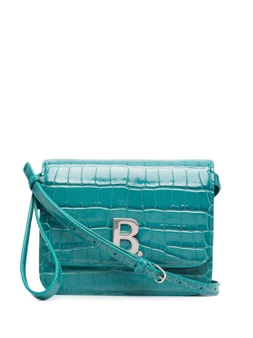 BALENCIAGA B. Small Crossbody Bag