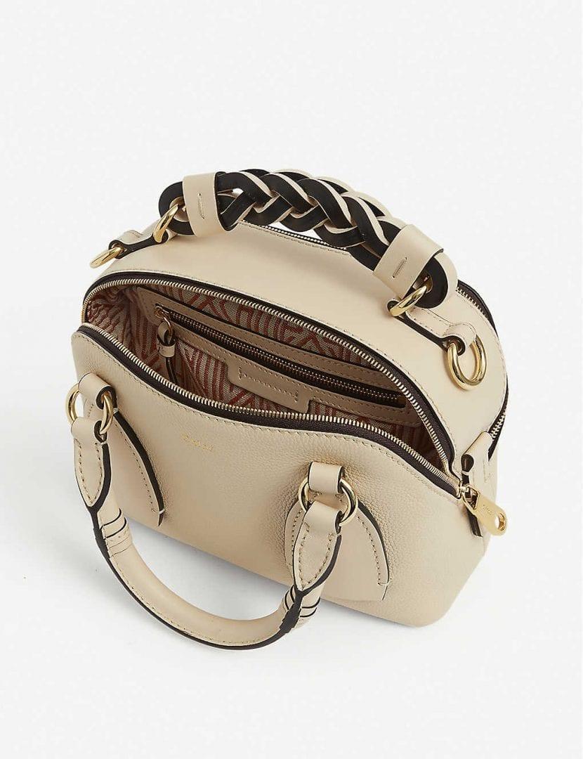 CHLOE Daria Small Leather Shoulder Bag