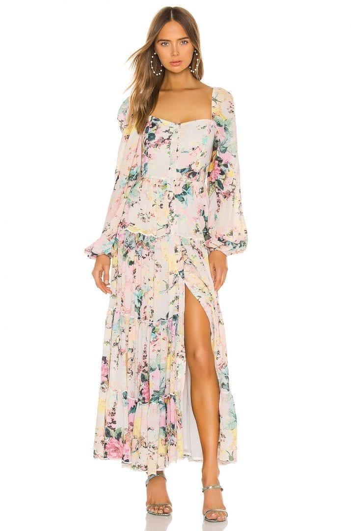 HEMANT AND NANDITA Teien Maxi Dress