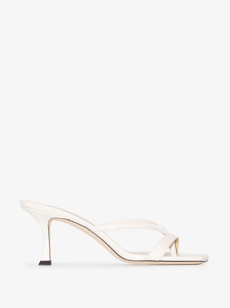 JIMMY CHOO Strappy Slip-On 70mm Sandals