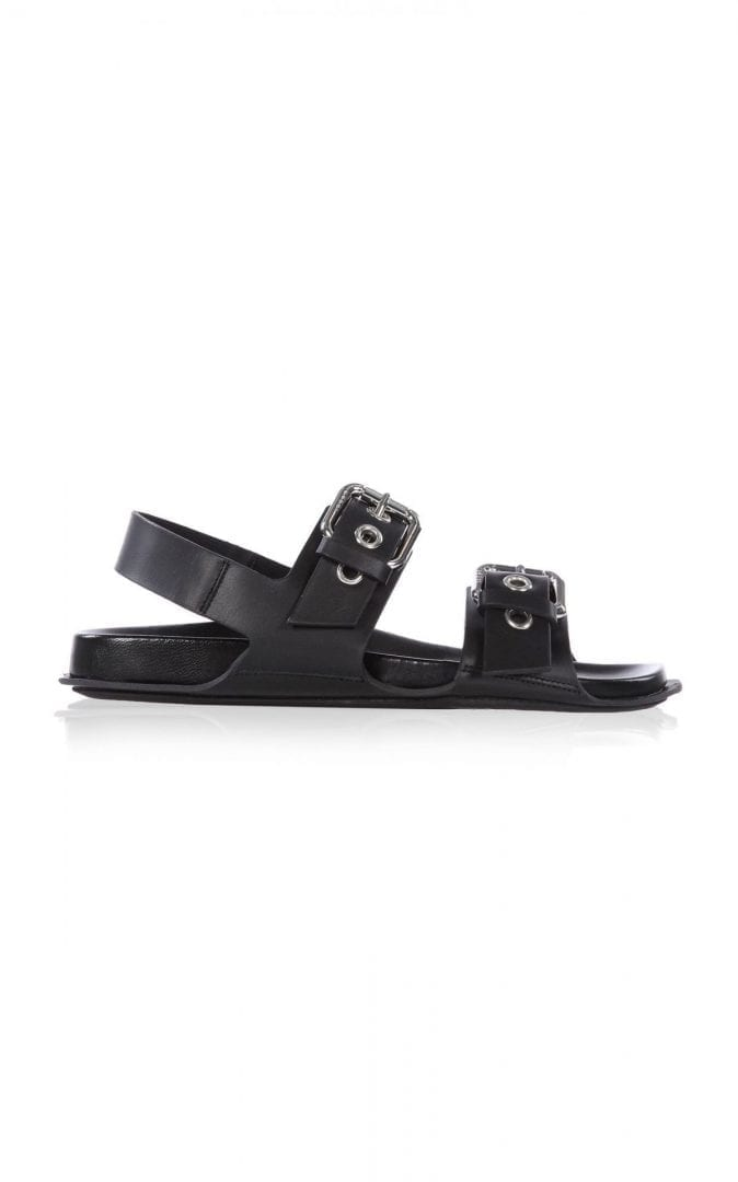 MARNI Buckled Leather Sandals