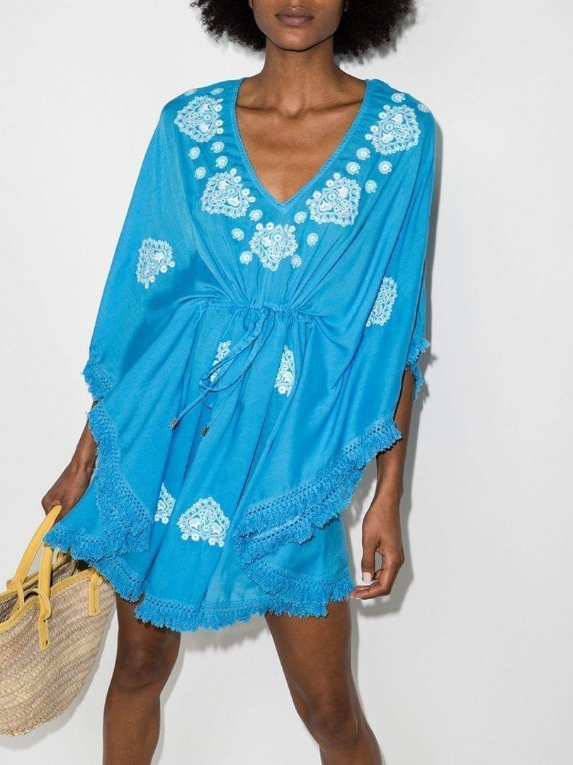MELISSA ODABASH Irene Mini Beach Dress