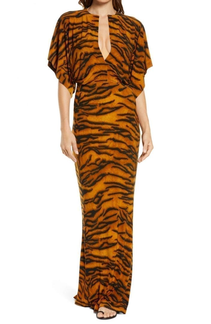 NORMA KAMALI Obie Cover-Up Maxi Dress