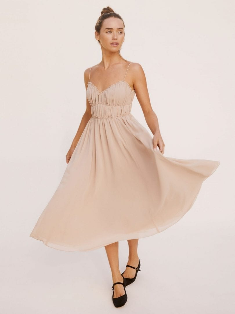 REFORMATION Pique Dress