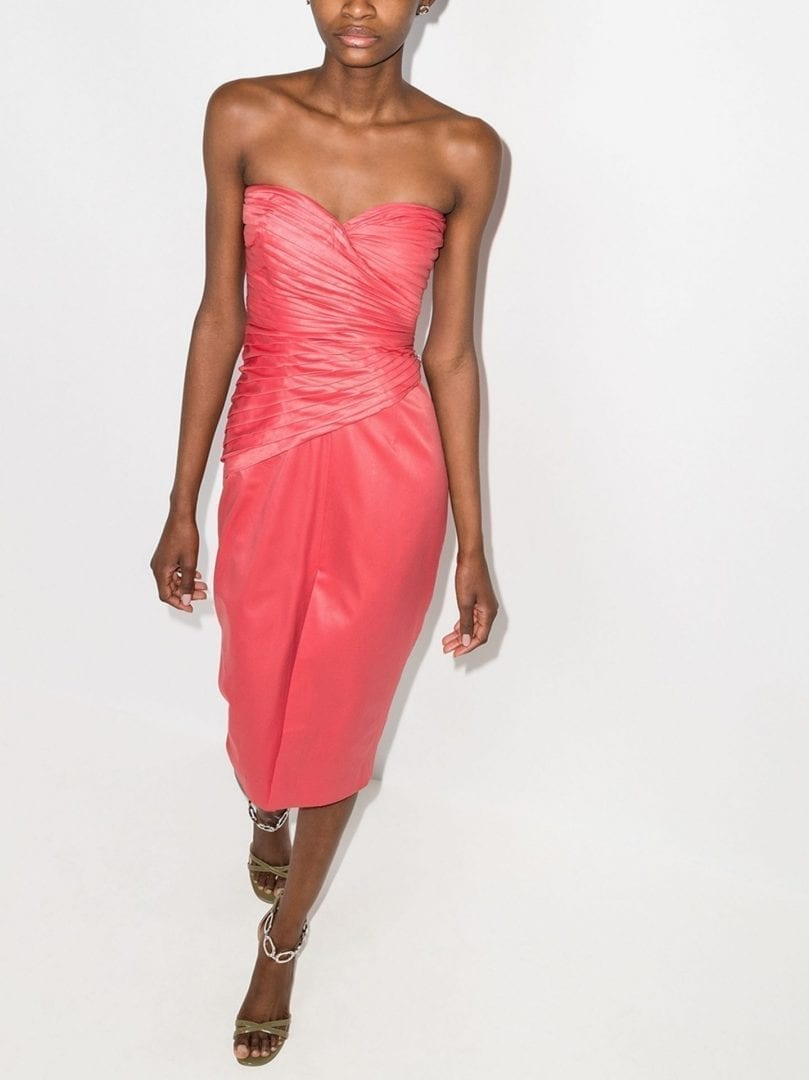 ROTATE Donna Midi Dress