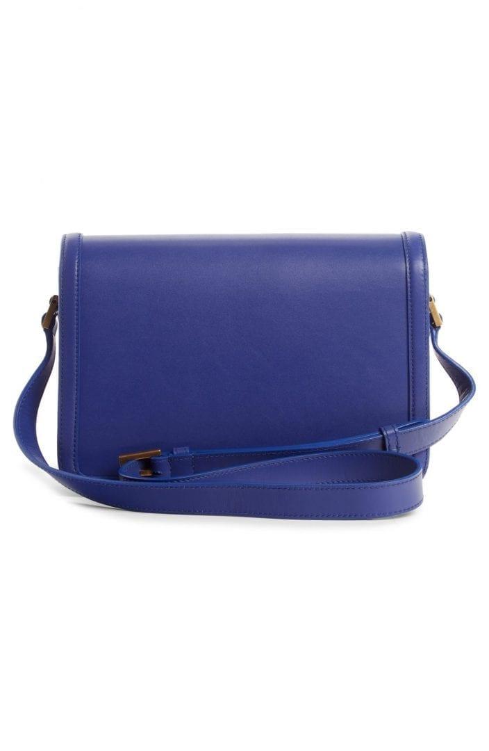 SAINT LAURENT Medium Solferino Leather Shoulder Bag
